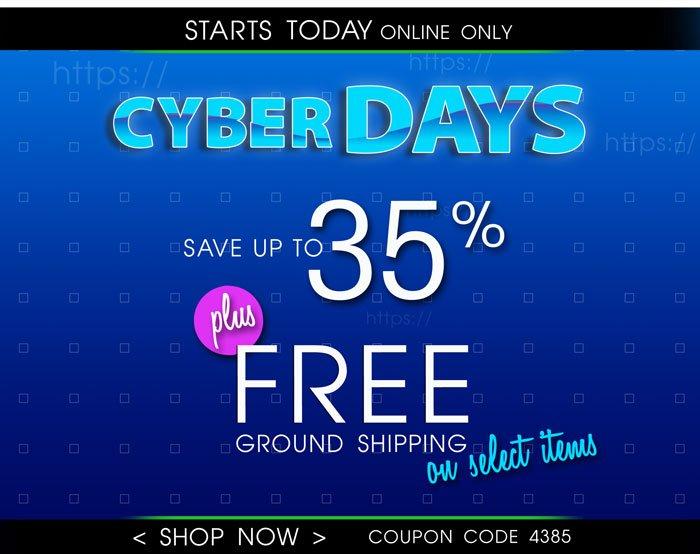 Shop Cyber Days