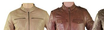 Warm up with NEW Leather Jackets - On Sale