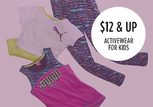 $12 & Up: Activewear for Kids