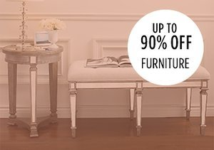 Up to 90% Off: Furniture