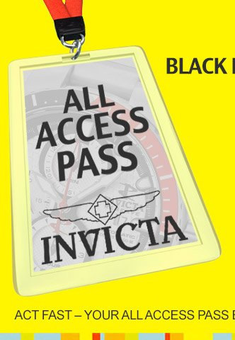 All Access Pass to Invicta Deals
