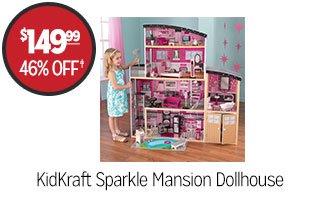 KidKraft Sparkle Mansion Dollhouse - $149.99 - 46% off‡