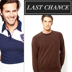 Last Chance: Men's Apparel from $1