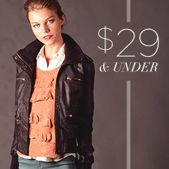 29$ & under Winter Essentials for Her