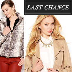 Last Chance: Outerwear from $1