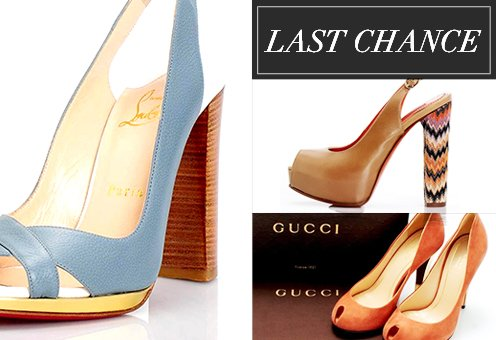 Last Chance: Designer Women's Shoes from $1
