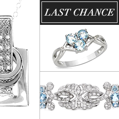 Last Chance: Silver Jewelry from $1