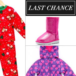 Last Chance: Kids apparel & Shoes from $1