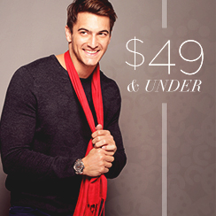 49$ & under Essentials for Him