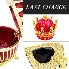 Last Cchance: Jewelry Boxes from $1