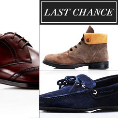 Last Chance: Men's Shoes from $1
