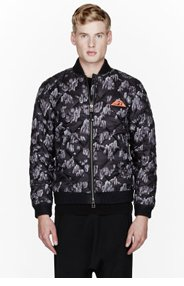ADIDAS ORIGINALS BY O.C. Grey Quilted rock climbing Bomber Jacket for men
