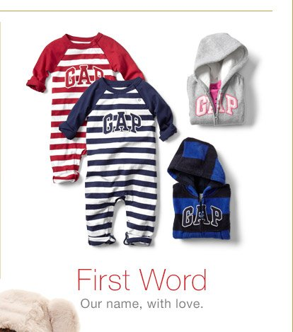 First Word | Our name, with love.