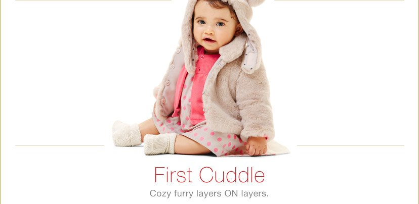 First Cuddle | Cozy furry layers ON layers.