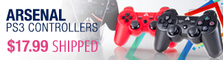 Newegg Flash - Arsenal PS3 Controllers.