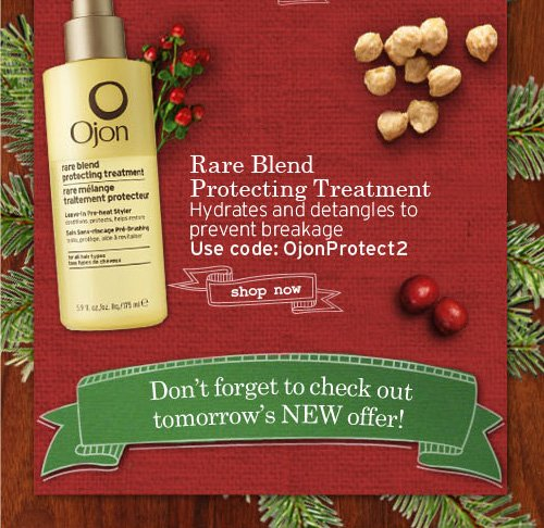 Rare Blend Protecting Treatment Hydrates and detangles to prevent breakage Use code OjonProtect2 SHOP NOW