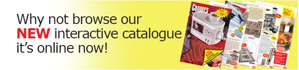Why not browse our NEW interactive catalogue its online now!