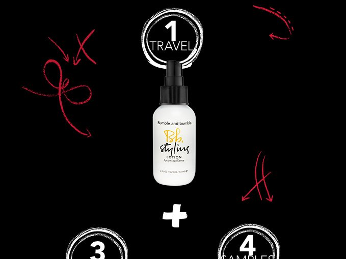 Styling Lotion travel