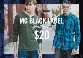 Shop MG Black Label starting at $20