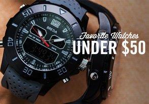 Shop Favorite Watches Under $50