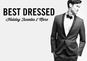 Shop Best-Dressed: Holiday Tuxedos & More