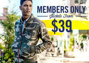 Shop Members Only: Jackets from $39