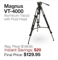 Magnus VT4000 Tripod