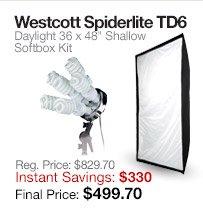Westcott spiderLite TD6