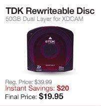 TDK 50GB Disc