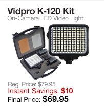 Vidpro LED Light