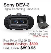 Sony Recording Binoculars