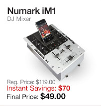 Numark iM1 DJ Mixer
