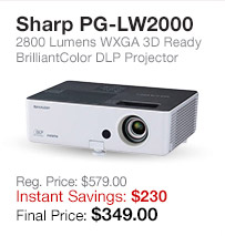 Sharp Projector