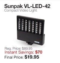 Sunpak LED Light