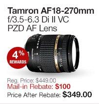 Tamron 18-270mm