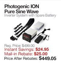 Photogenic ION Inverter