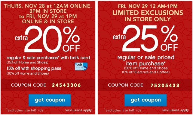 Extra 20% off. Get coupon.