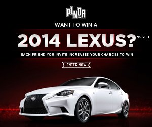 Enter to win a NEW Lexus!