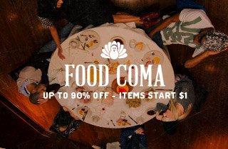 Food coma no more!
