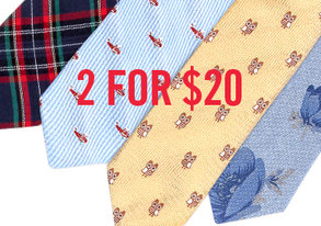 Shop Knot Up: 2 for $20 Ties