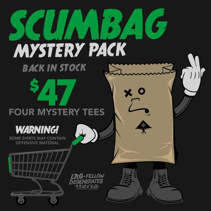 LRG SCUMBAG MYSTERY PACK