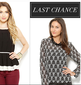 Last Chance: Women's Apparel from $1