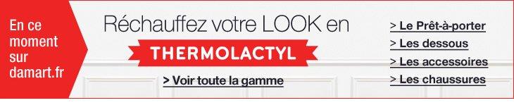 En ce moment sur damart.fr