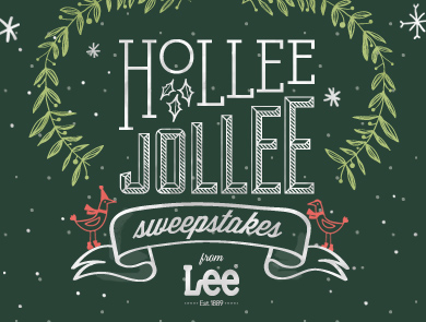 HOLLEE JOLLEE sweepstakes from LEE®