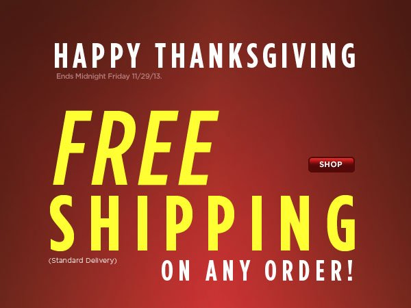 FREE Shipping Any Order
