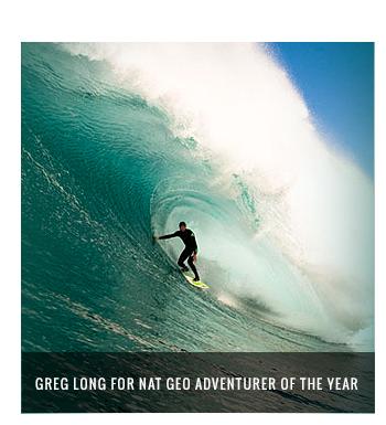 Greg Long for Nat Geo Adventurerer of the year