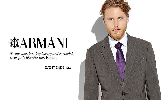 Shop Armani Men