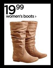 19.99 women's boots ›