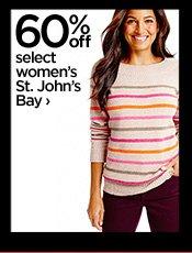 60% off select women's St. John's Bay  ›