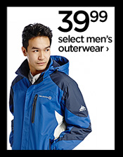 39.99 select men's outerwear ›